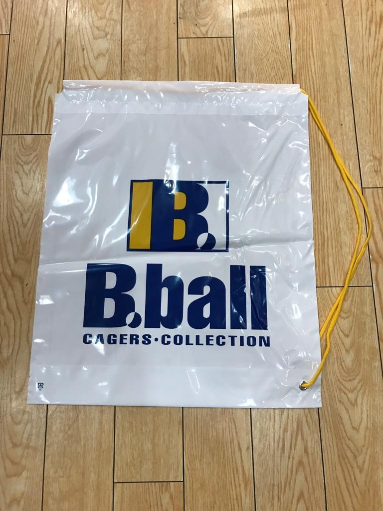 B.ball片ひもショップ袋