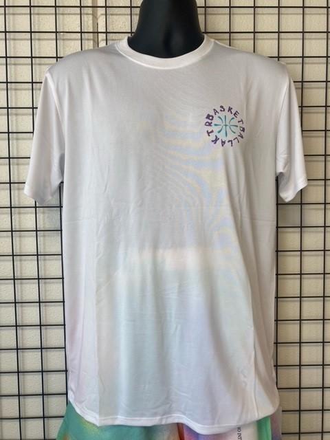 バスケットボール柄*Tシャツ(ホワイト)